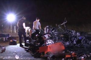 Dos muertos y un herido en accidente de tránsito en Lakeview