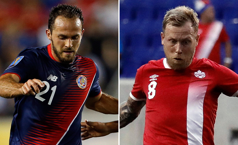 Copa Oro 2017: Costa Rica vs. Canadá, horario y canales de televisión