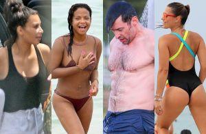 Las fotos más 'hot' de famosos en bikini disfrutando del verano