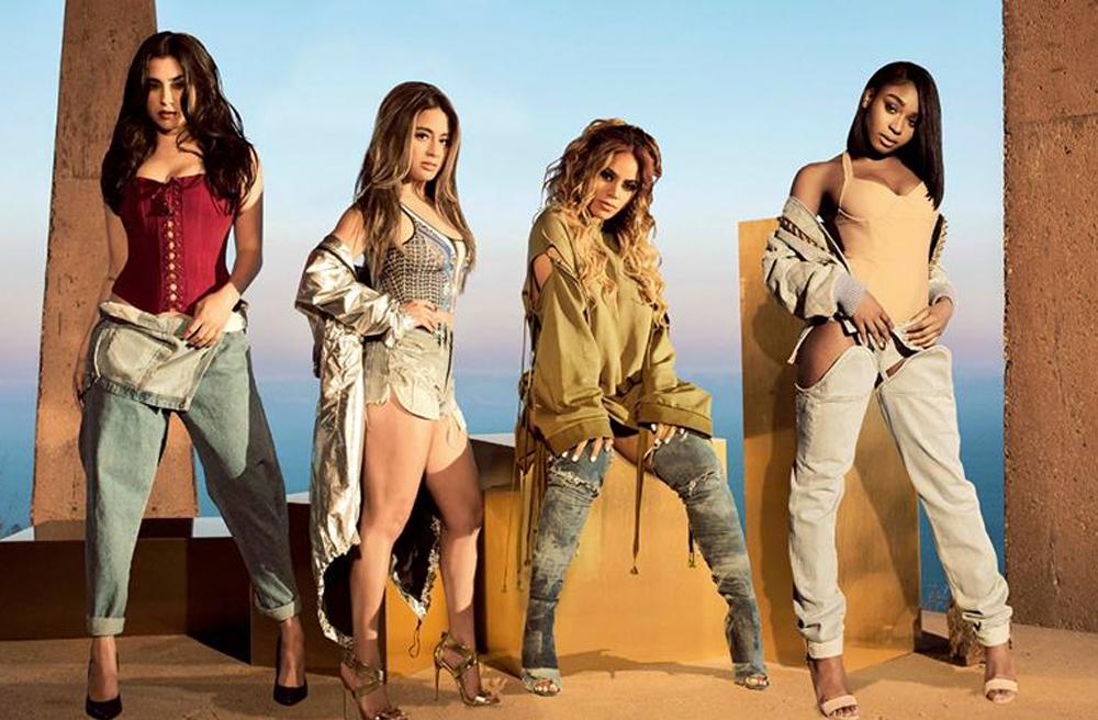 """Fifth Harmony se encuentra promocionando su más nuevo sencillo """"Down""""."""