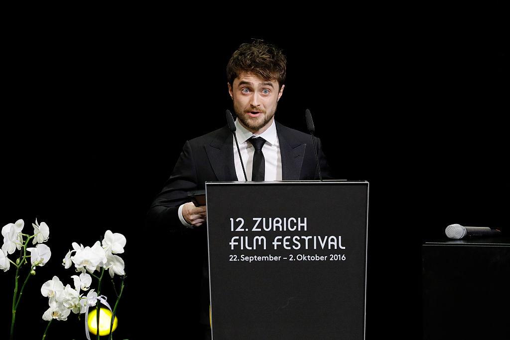 Daniel Radcliffe nunca se puso límites a pesar de tener dispraxia.