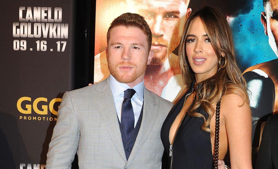 Hay rumores sobre posible rompimiento entre Canelo 'Alvarez y Shannon de Lima