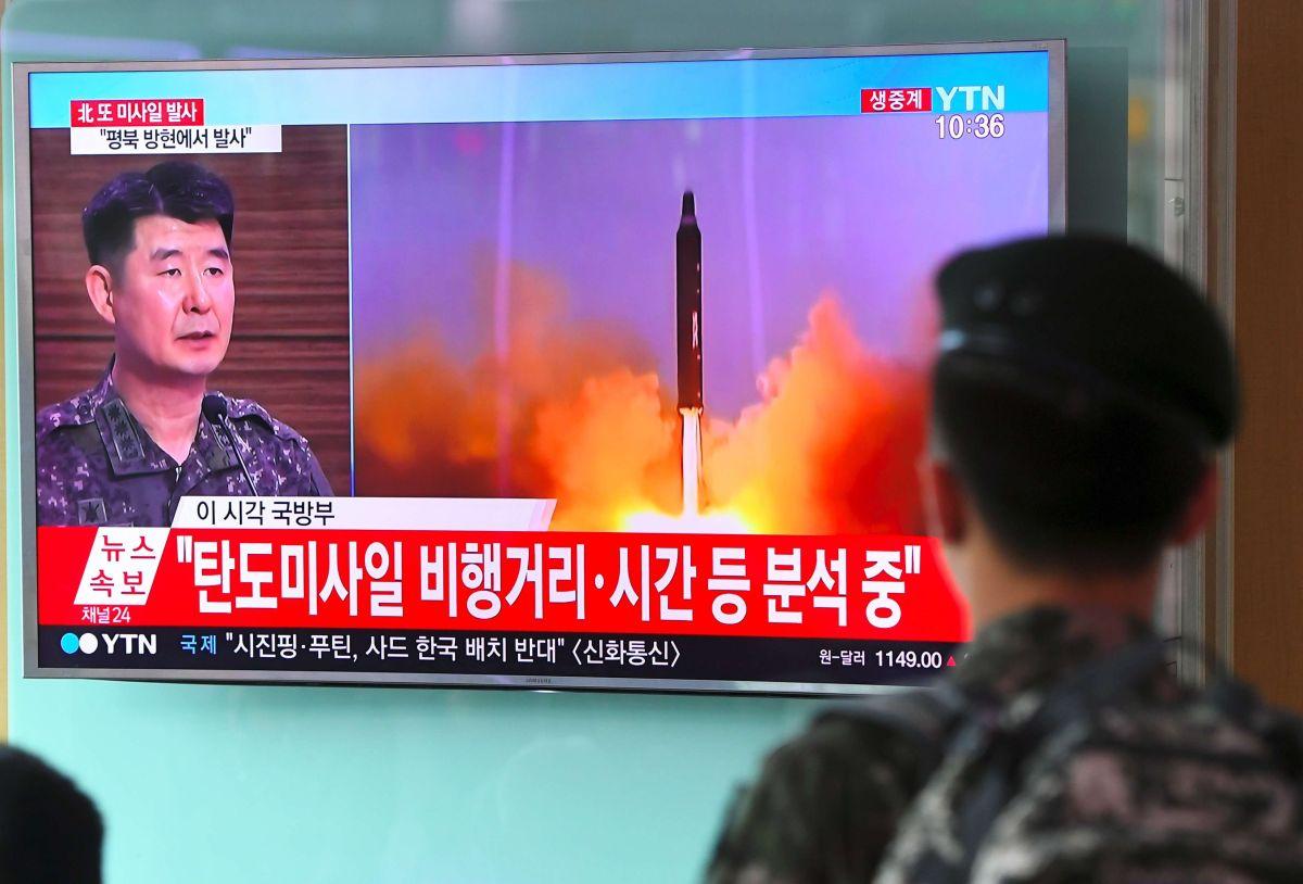 Crece tensión por nuevo lanzamiento de misil