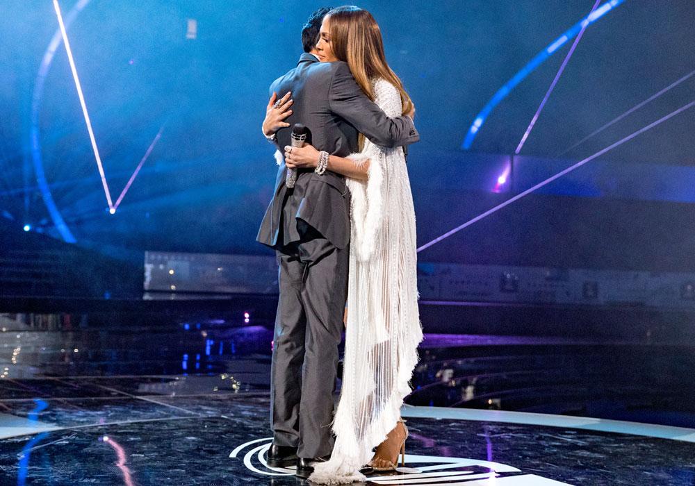 Jennifer Lopez y Marc Anthony, mantienen una buena relación.