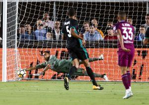 Real Madrid fue goleado en el Memorial Coliseum de Los Ángeles