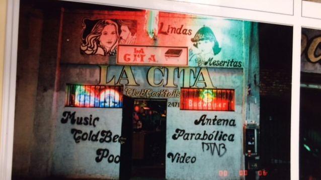 Bar 'La Cita'.