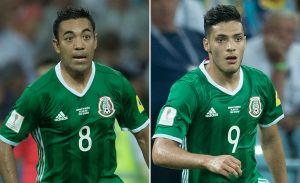 Marco Fabián y Raúl Jiménez, nominados por FIFA al mejor gol de la Confederaciones