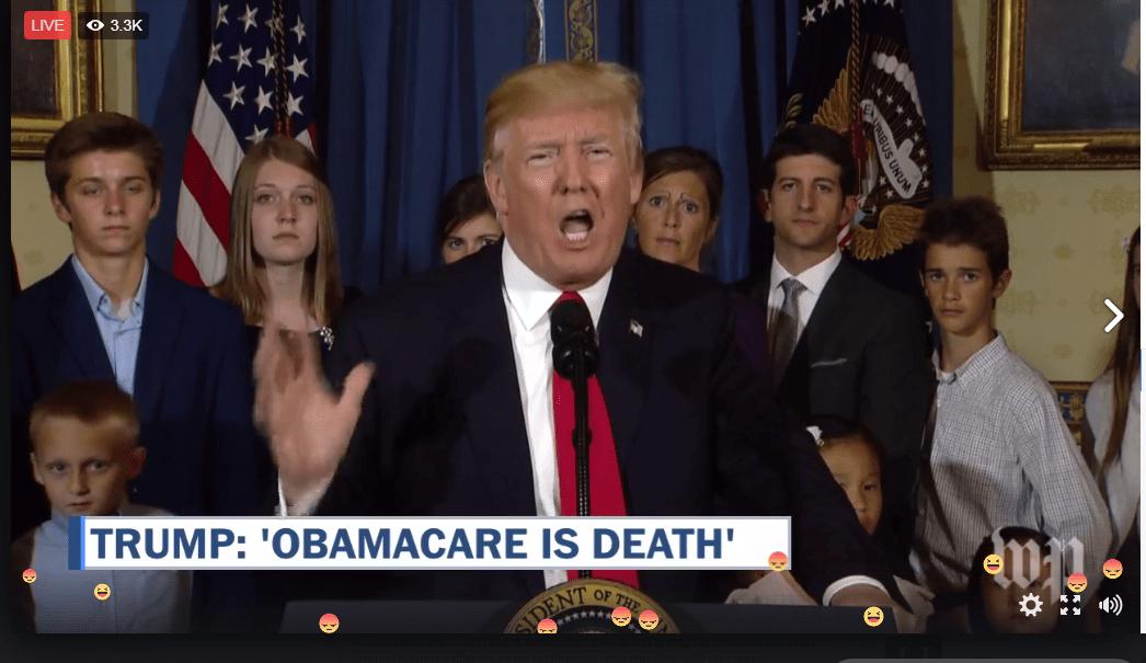 Trump sigue presionando.