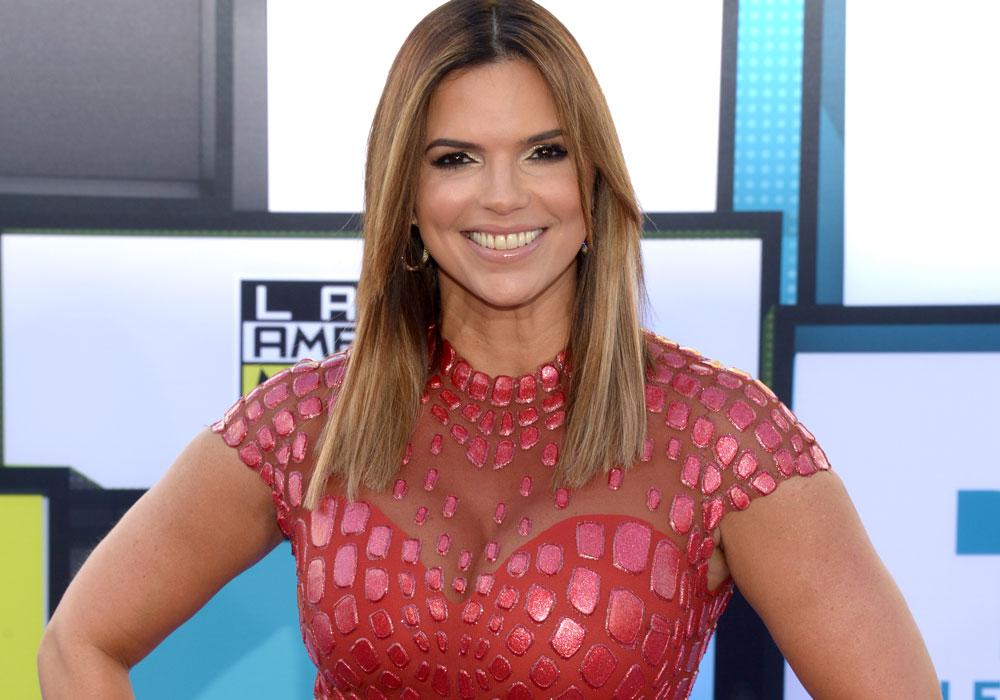 Rashel Díaz presentadora de Telemundo.