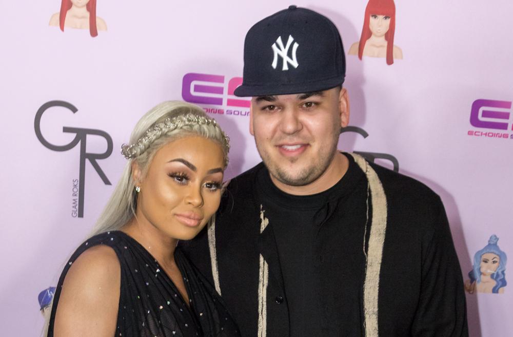 Blac Chyna acusa de violento a Rob Kardashian