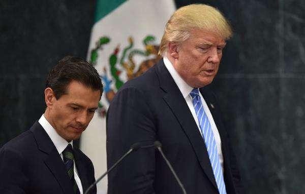 Los mandatarios no han tenido un encuentro bilateral en México o EEUU.