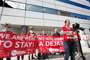 """Activistas en Santa Ana lanzan """"semana de acción"""" para abogar por un hogar para todos"""