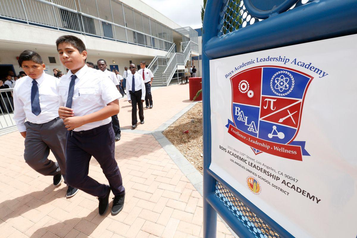 Los Ángeles tiene una escuela solo para niños