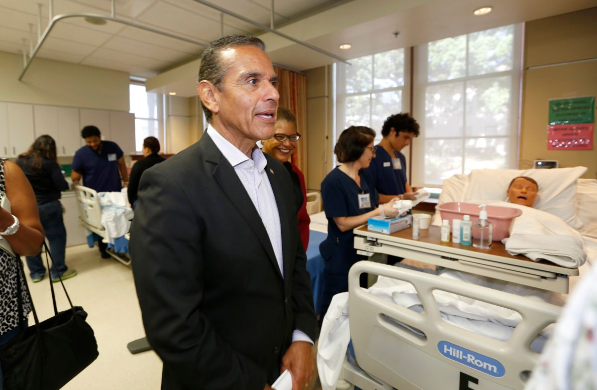 Antonio Villaraigosa, candidato a gobernador de California, confía en sus logros pasados