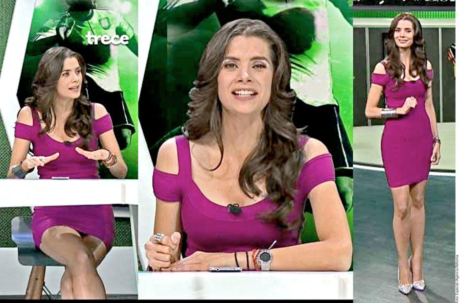 """TV Azteca despide a conductora Rebeka Zebrekos por """"no enseñar más piel"""""""