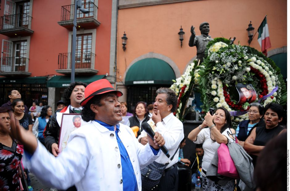 Así se vivió el homenaje a Juan Gabriel en la Ciudad de México