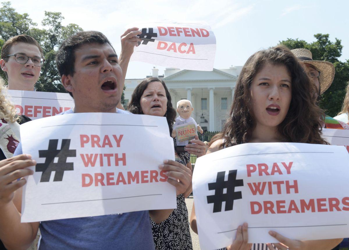 Dreamers protestan