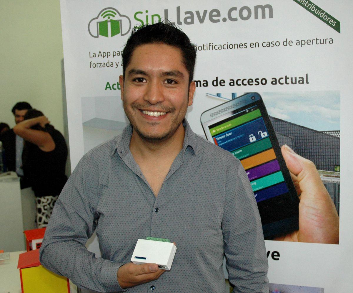 """""""SinLlave"""" es la app que permite controlar cualquier puerta con el celular."""