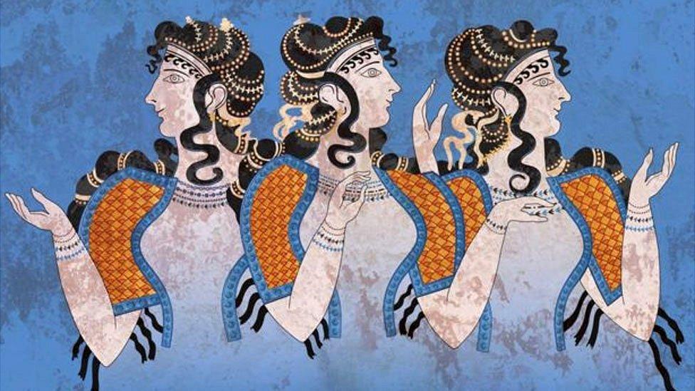 """El origen genético """"casi mítico"""" de los antiguos griegos"""