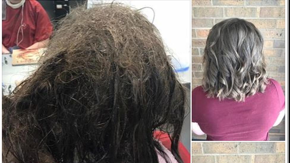 Las peluqueras que rehusaron afeitarle la cabeza a una adolescente que sufre de depresión