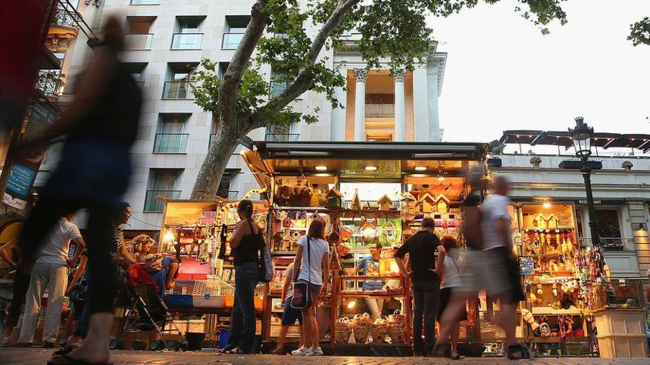 FOTOS: Así son Las Ramblas, el paseo de Barcelona donde ocurrió un ataque terrorista