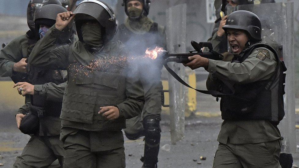Ejército venezolano /Getty