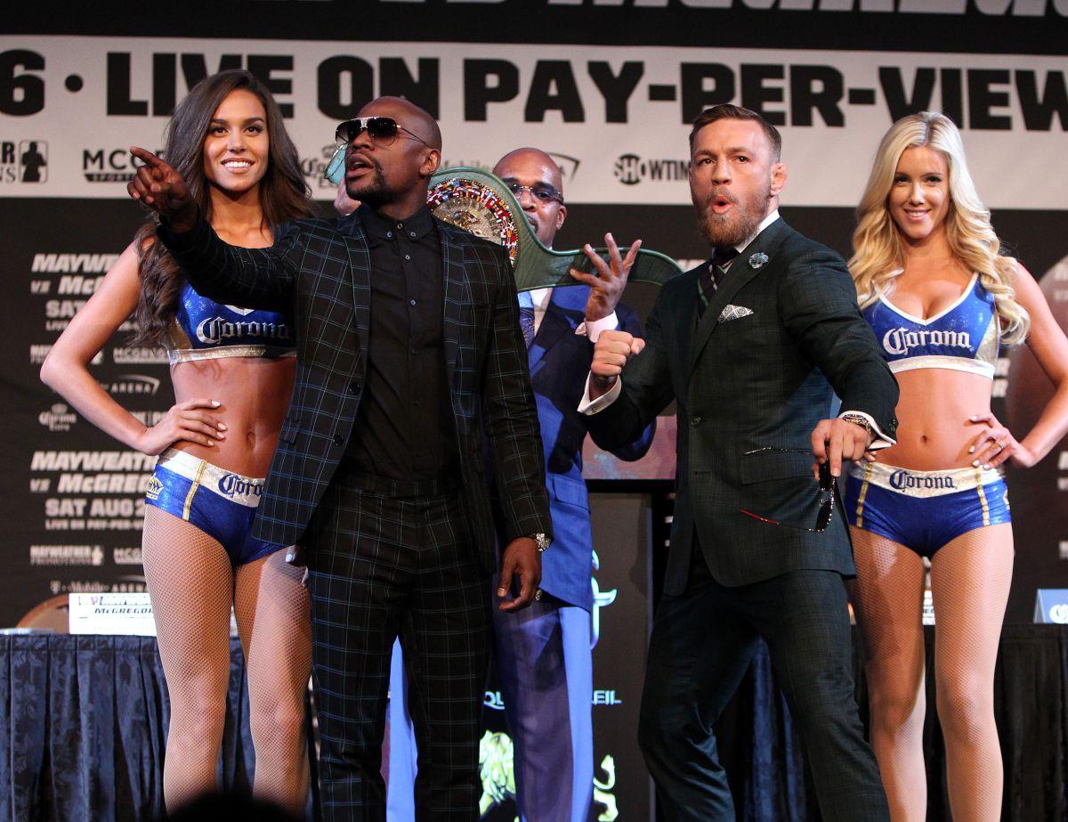 Floyd Mayweather-Conor McGregor, la pelea en números y cuánto dinero ganarán