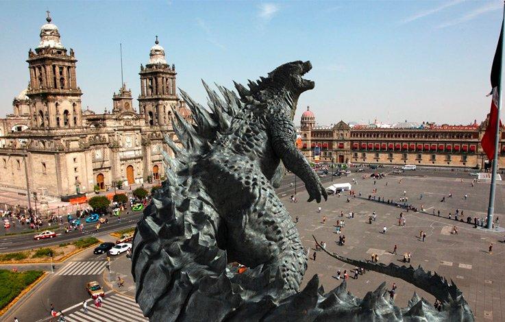 ¿Por qué se filma Godzilla en la CDMX?