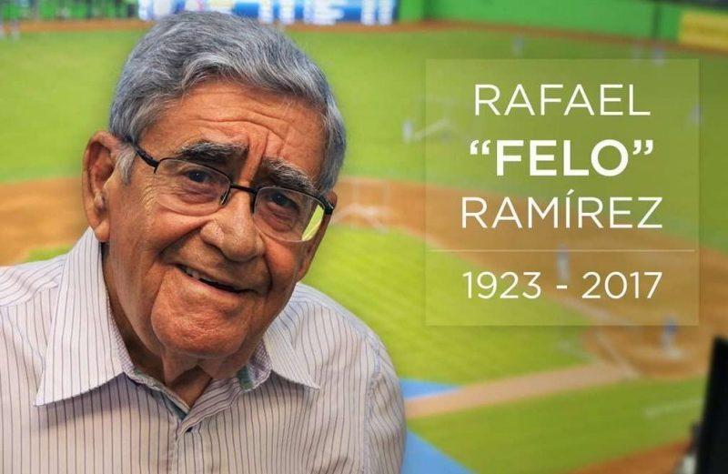 """El tributo de Jaime Jarrín a Felo Ramírez: """"Tenía una habilidad para narrar el béisbol única"""""""