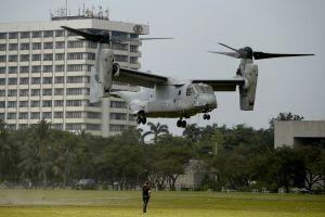 Se estrella avión militar de EEUU en Australia y desaparecen tres infantes de marina