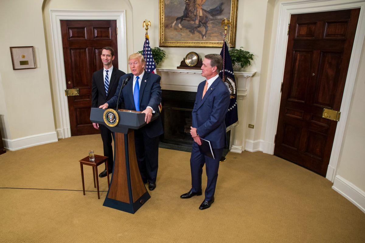 El miércoles, el presidente Trump dio a conocer el proyecto.