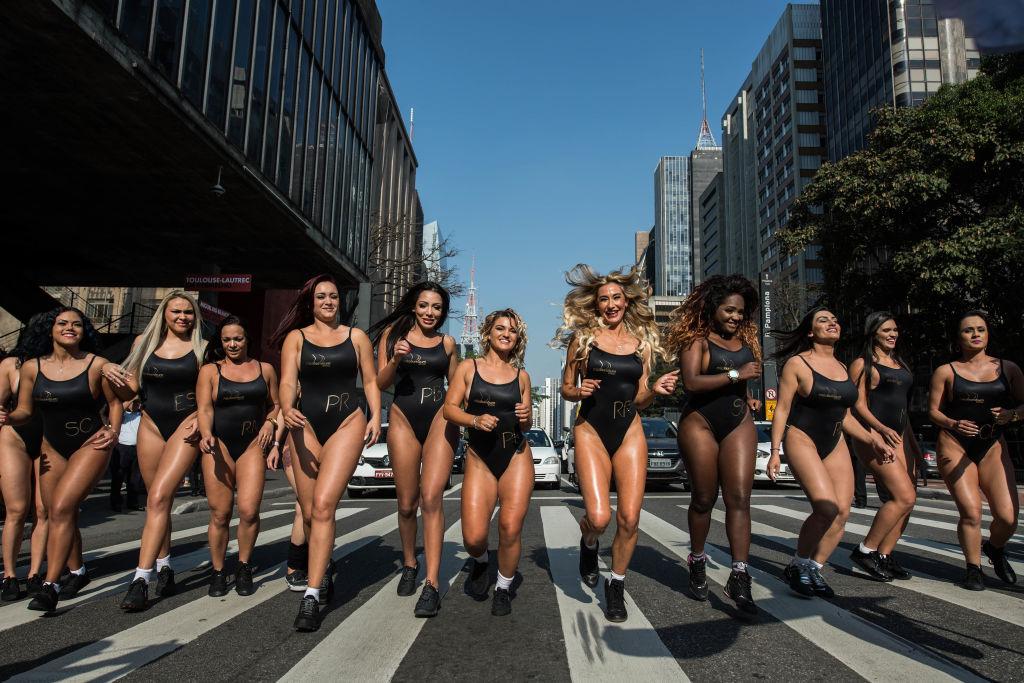 Miss Bumbum quiere dejar bien claro que las brasileñas son las reinas de los traseros
