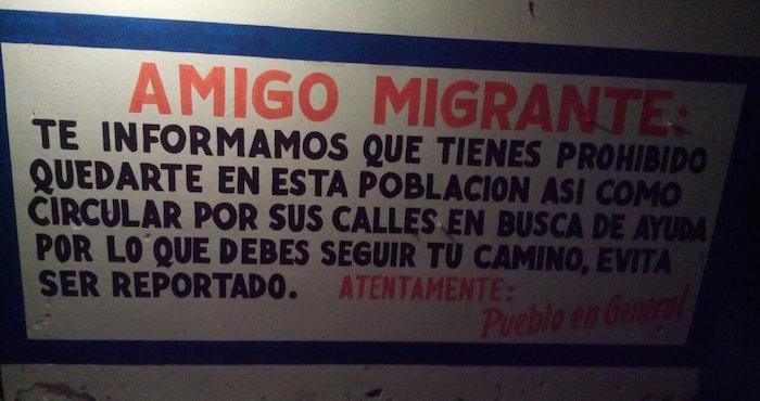 """Quieron a su """"colonia Modelo"""" sin migrantes"""