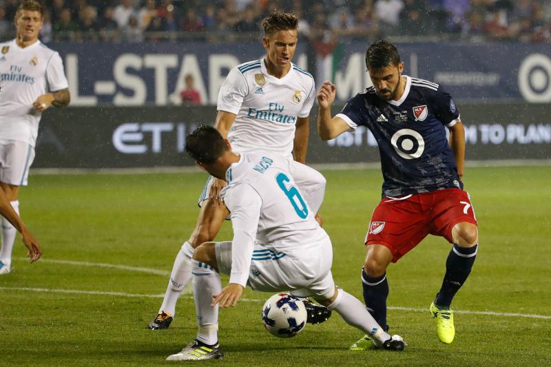 Video: Paradón de Keylor Navas a David Villa en el juego de Estrellas de la MLS contra Real Madrid