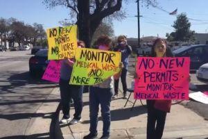 Residentes de Paramount se oponen a planta de tratamiento de desechos médicos