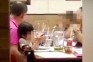 Ordenan la liberación de pederasta grabado abusando de menor en restaurante de Tabasco
