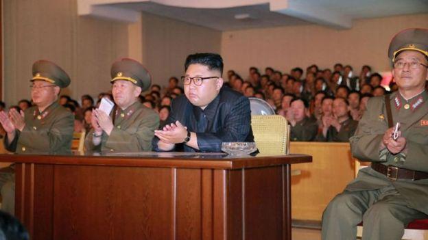 Kim Jong-un, líder de Corea del Norte/ Getty