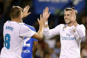 Bale, Casemiro y Kroos sacaron la cara por Cristiano en el estreno del Real Madrid
