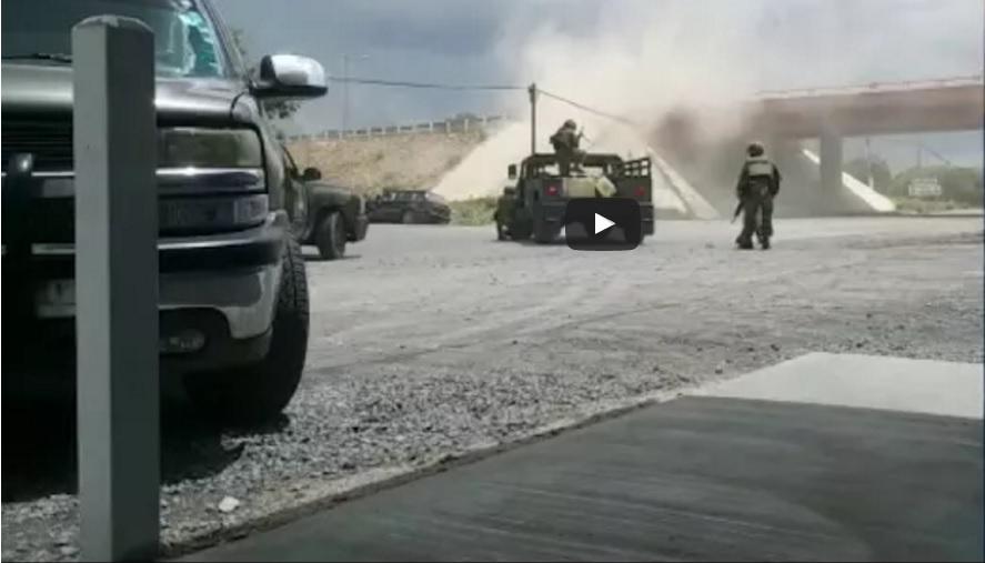 VIDEO: Enfrentamiento entre militares y narcos deja 18 muertos