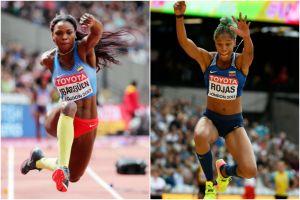 Colombia vs. Venezuela: Caterine Ibargüen y Yulimar Rojas protagonizan un gran duelo en el Mundial de Atletismo
