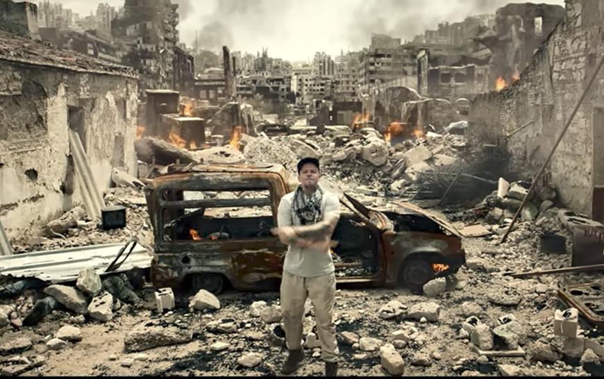 René 'Residente' Pérez estrena 'Guerra' un video con una escalofriante realidad