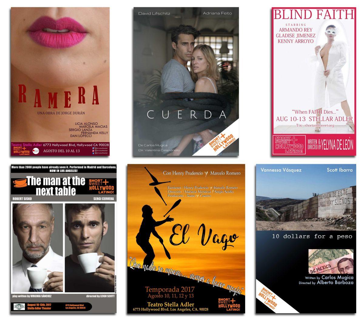 Teatro con sabor latino en el festival 'Short+Sweet LATINO' de Los Ángeles