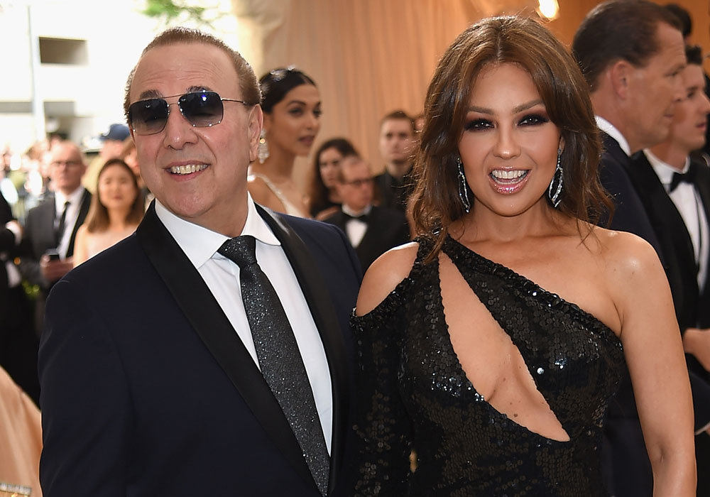 Tommy Mottola arrebata a Thalía su imagen de diva con esta foto