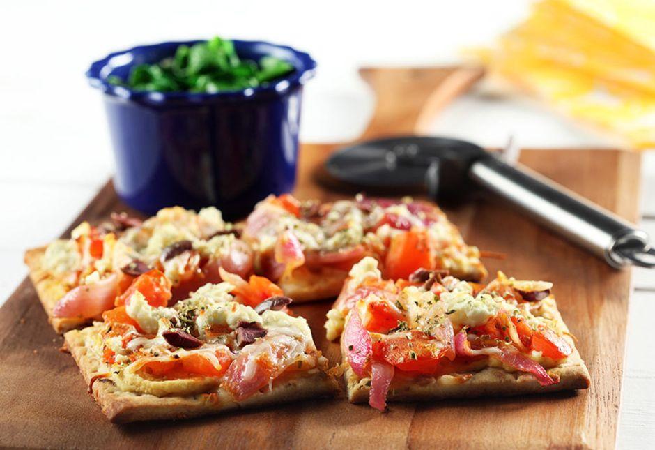 Con sabor a pizza y focaccia