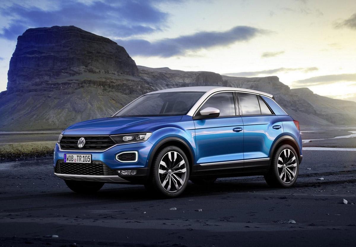 Así es el nuevo Volkswagen T-Roc