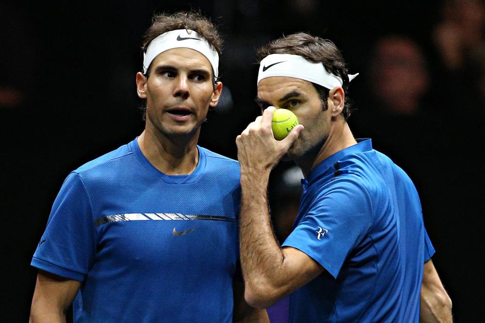 Luego de la suspensión del torneo de Grand Slam, los tenistas se hicieron presentes en redes sociales.