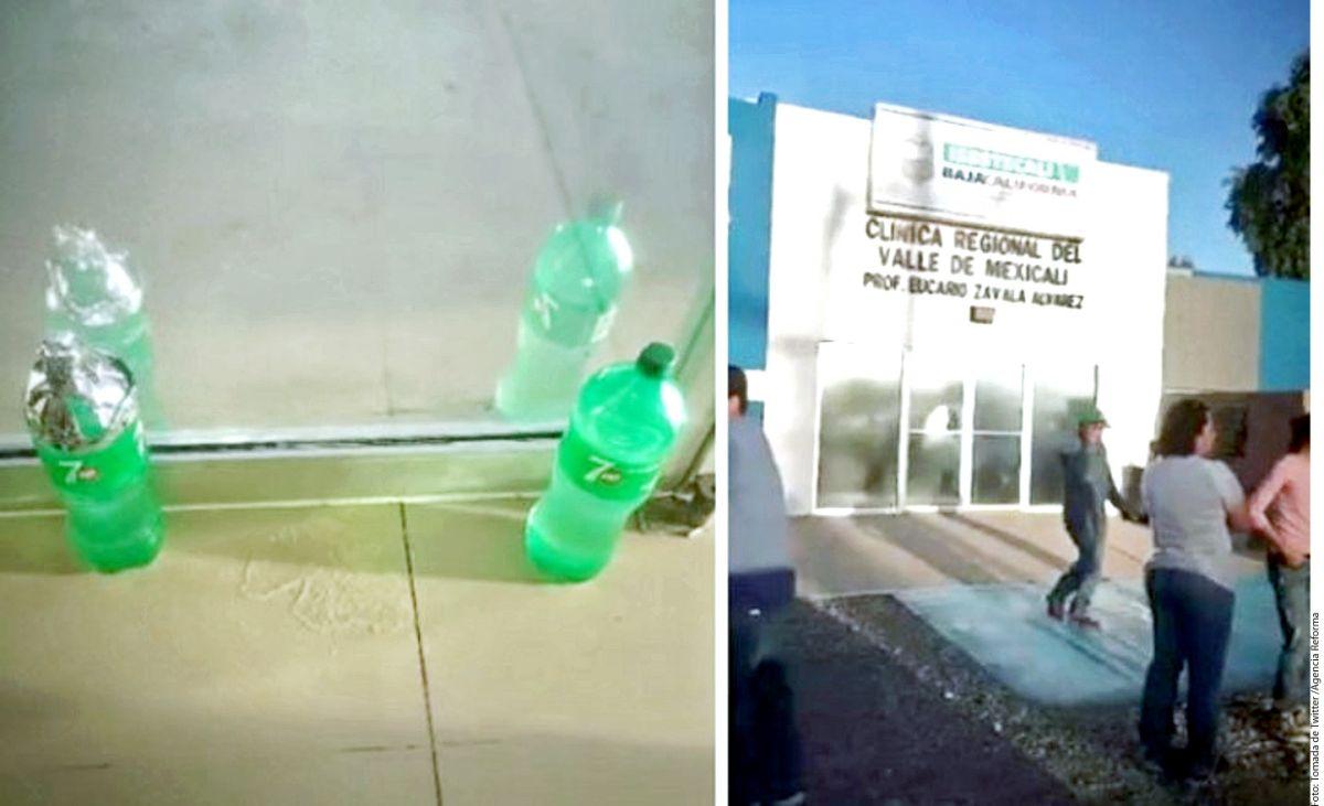 Clínica en la que un hombre fue declarado muerto tras ingerir una bebida gaseosa que presuntamente lo intoxicó / Agencia Reforma