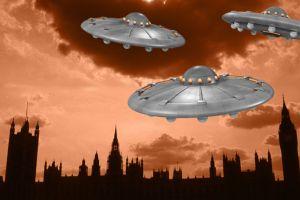 Invasión extraterrestre: El día que varios platillos voladores aterrizaron en Inglaterra