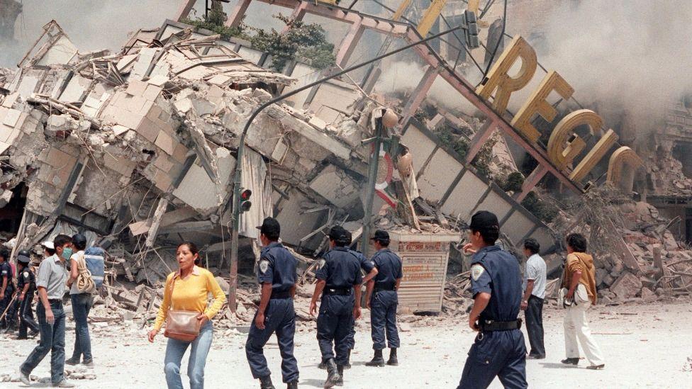 El sistema de Alerta Sísmica es una lección del terremoto de 1985.