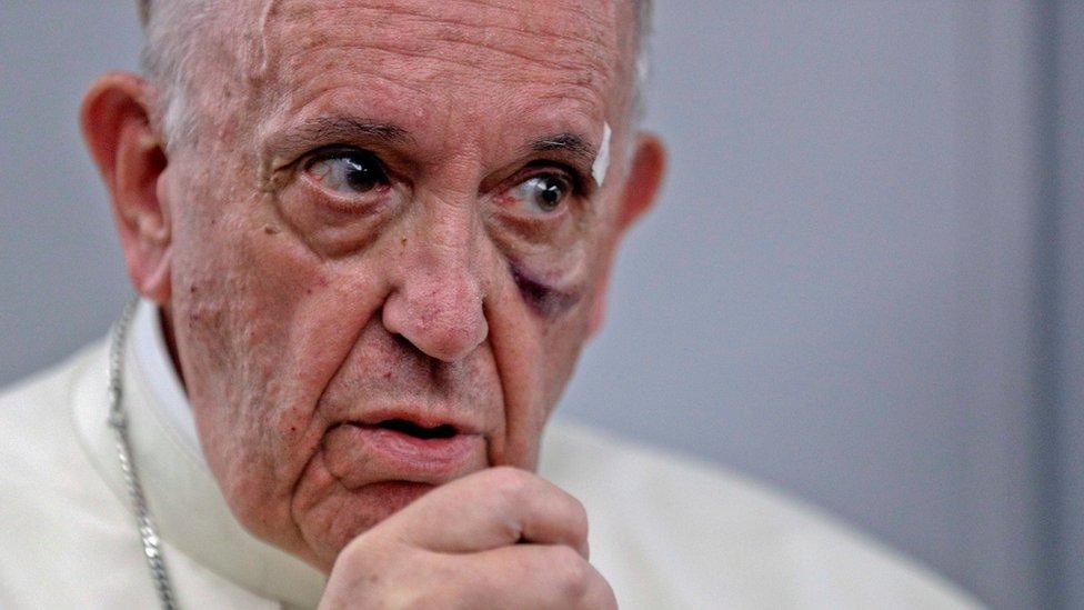 """""""El hombre es un estúpido"""": crítica del papa Francisco a quienes niegan el cambio climático, incluido Trump"""